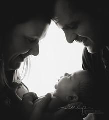 Family Of Three <3 (Samantha Nicol Art Photography) Tags: baby newborn photographer photography scotland studio mono black white family samantha nicol art