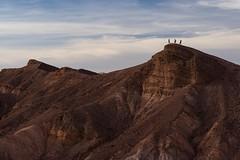 Three On the Mountain (thedailyjaw) Tags: deathvalley deathvalleynationalpark usnationalpark nikon zabriskie point sunset