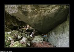Guy a l'entrée du  Canyon Nain du Laizeret - Gilley (francky25) Tags: guy lentrée du canyon nain laizeret gilley franchecomté karst