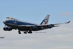 CargoLogicAir G-CLAA Boeing 747-446F cn/33749-1352 @ EDDF / FRA 30-04-2018 (Nabil Molinari Photography) Tags: cargologicair gclaa boeing 747446f cn337491352 eddf fra 30042018