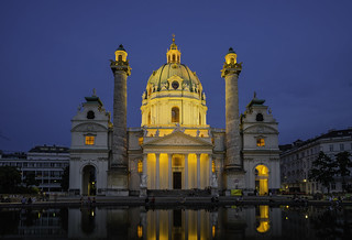 The Vienna Karlskirche