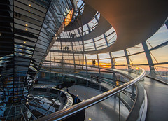 Reichstag Dome, Berlin (northcountrygirl) Tags: reichstag bundestag berlin parliament normanfoster architecture sigma1020 travel city canon60d