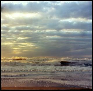 Otra del amanecer en la playa