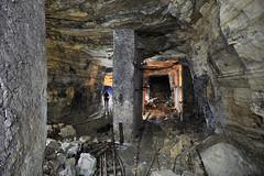 Voies ferrées (flallier) Tags: carrière souterraine gypse underground gypsum quarry voieferrée voieétroite plâtre plâtrière consolidations écurie souterrain tunnels galeries decauville nikon d700 20mm ais nikkor