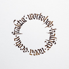 Fraktur Workshop Halifax Nova Scotia.