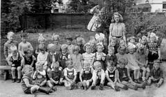 Class photo (theirhistory) Tags: boys kids school class form group girls teacher shoes shorts skirt dress wellies boots