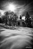 Megève 5 (mg photographe) Tags: snow neige megève church capelle montagne mountain alpes france monochrome sun soleil