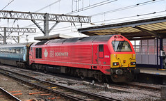 DBC - 67018 'Keith Heller' - Manchester Piccadilly (Transport Tim) Tags: dbschenker dbs