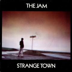 The Jam - Strange Town (1979) (stillunusual) Tags: thejam jam strangetown single vinyl sleeve artwork picturesleeve aside paulweller brucefoxton rickbuckler 1970s 1979