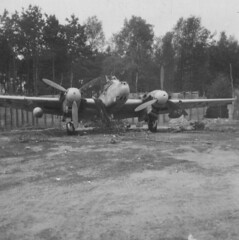 born digital image (San Diego Air & Space Museum Archives) Tags: aviation aircraft airplane bomber militaryaviation luftwaffe messerschmidt messerschmidtme110 messerschmidt110 me110 messerschmittbf110 bf110 wwii ww2 worldwarii secondworldwar