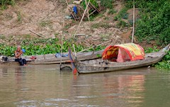 Life on the Mekong River, Cambodia. (One more shot Rog) Tags: mekong mekongriver mekongdelta cambodia vietnam onemoreshotrog travel boat boats fishing poverty fish survive vietnamese cambodian rivers river