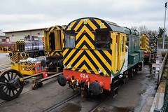 Wabtec LH Group Barton Under Needwood (cmc_1987) Tags: 08624 08823 freightliner rambo gronk shunter malcolm wabtec hunslet 08615 08873 repair overhaul 060 br britishrail lhgroup