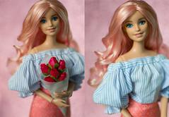 Barbie (azifirina) Tags: barbie fashionistas 14 mattel 2016 pink