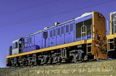 Mitsubishi locomotive (Tony Tomlin) Tags: newzealand trains locomotive mitsubishi