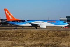 C-FJAU (Sunwing - TUIfly) (Steelhead 2010) Tags: sunwingairlines jetairfly tuifly cfjau oojau boeing b737 b737800 yyz