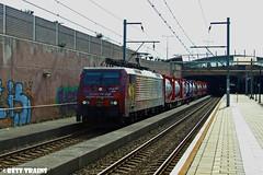 SBB 189 206 komt door station Best (Best Trains) Tags: sbb 189 206 van gogh vincent sbbc station best cargo containertrein