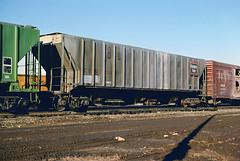 CB&Q Class LO-10 184912 (Chuck Zeiler) Tags: cbq class lo10 184912 burlington railroad covered hopper freight car cicero train chuckzeiler chz