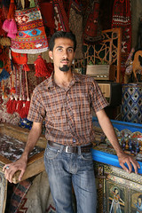 Antiques dealer (geneward2) Tags: shiraz iran antiques dealer man portrait
