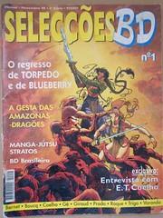 Revista mensal Selecções BD, 2ª Série, Nº 1 (ACMateus) Tags: antiguidades coleccionismo velharias revista