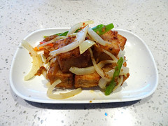 Pan Fried White Turnip Cakes in XO Sauce (knightbefore_99) Tags: asian fusion vancouver food lunch work kingsway burnaby chinese tasty cool great fried white turnip xo sauce cattlecafe art
