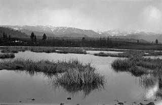 pond near Saddle mountain