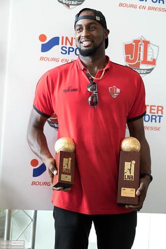 Zack Trophée MVP - ©Christelle Gouttefarde