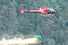 AS350 / H125 Air Zermatt (HelicoMontagne) Tags: épandage spray helicopter helikopter air zermatt h125 airbus helicopters