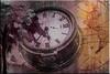 Leyendo (seguicollar) Tags: imagencreativa photomanipulación art arte artecreativo artedigital virginiaseguí reloj árbol mujer leyendo mapa américa horas manillas números woman