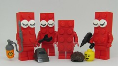 There WAS something wrong with series 18 (2) (Fantastic Brick) Tags: brickfig lego 2x4 series 18 minifigs collectible