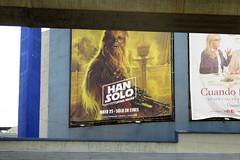 Anuncio de película de Han Solo (laap mx) Tags: mexico mexicocity ciudaddemexico starwars hansolo anuncio publicidad advertisement chewbacca cine movietheater hansolounahistoriadestarwars soloastarwarsstory