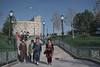 Ulugbek's Observatory; Samarkand, Uzbekistan (erik-peterson) Tags: 2018 d3s erik erikpeterson samarkand uzbek uzbekistan observatory ulugbek astronomy tourist tourism women traditional clothing