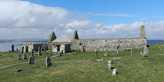 Eaglais na h-Aoidhe(Church of the eye), Aignish, Isle of Lewis, April 2018 (allanmaciver) Tags: eaglais na h aoidhe st columba ancient historic site graves stones weather blue sky aiginish ruin allanmaciver lewis eilean gaelic western isles