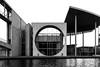 Marie Elisabeth Lüders Haus (observing silence) Tags: architecture berlin germany concrete brutalism reichstag braunfels sprea bn bw white black light river city urban street