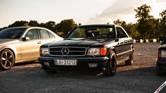 W126 Coupe (m.grabovski) Tags: mercedes w126 coupe warszawa warsaw polska poland mgrabovski 500 sec