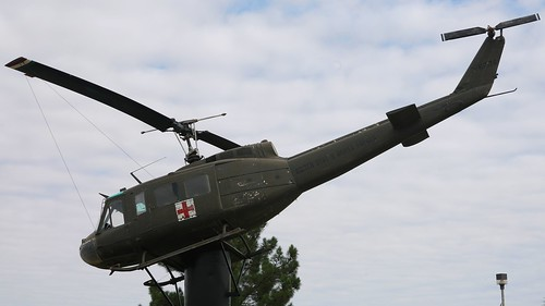 Bell 205 UH-1D-BF Iroquois 66-1078 in Big Spring