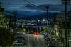 deharo street bump (pbo31) Tags: sanfrancisco california night dark black may 2018 city urban boury pbo31 color potrerohill skyline blue over view lightstream traffic roadway deharostreet sky 280 101 highway