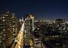 6th Ave (fantommst) Tags: lisaridings fantommst newyork nyc night usa lights sky skyscrapers buildings street rooftop 6th avenue