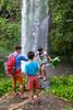 Be careful there (Stinkee Beek) Tags: erin adi waterfall lombok ethan