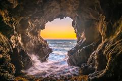 Malibu California Ocean & Beach Sea Cave Sunset! Epic Malibu Long Exposure Fine Art Landscape Seascape HDR Photography! Elliot McGucken Fine Art Photography! Sony A7R II & Carl Zeiss Sony Vario-Tessar T* FE 16-35mm f/4 ZA OSS Lens SEL1635Z (45SURF Hero's Odyssey Mythology Landscapes & Godde) Tags: beach sea cave sunset epic malibu long exposure fine art landscape seascape hdr photography elliot mcgucken sony a7r ii sharp carl zeiss variotessar t fe 1635mm f4 za oss lens sel1635z pretty brunette bikini model venus beautiful swimsuit surf girl the birth surfs up california sexy hot fitness surfer dx4dtic 45epic