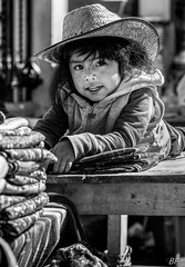 The king of the market ! (poupette1957) Tags: art atmosphère black canon city curious costumes children detail guatemala humanisme life monochrome market noiretblanc noir photographie people portrait rue street shop town travel urban ville voyage