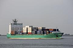 CHRISTOPHER (angelo vlassenrood) Tags: ship vessel nederland netherlands photo shoot shot photoshot picture westerschelde boot schip canon angelo walsoorden cargo container christopher