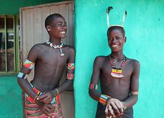 Bana Boys, Ethiopia (dayvmac) Tags: ethiopia portraits tribal bana tribe africa faces