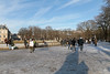 Jardin du Luxembourg - Paris (France) (Meteorry) Tags: europe france idf îledefrance paris jardinduluxembourg park parc jardin garden luxembourg sénat people snow neige winter hiver trees arbres february 2018 meteorry