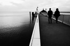 On the edge (stefankamert) Tags: stefankamert edge people lakeconstance bodensee noir blackandwhite blackwhite noiretblanc landscape water sea tones sky ricoh gr grii ou