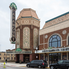 Paramount Theater (string_bass_dave) Tags: il theater preservation historicpreservation illinois cinema paramount flickr artdeco aurora unitedstates us