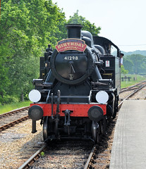 Happy Birthday Sue! (davids pix) Tags: 41298 ivatt lmsr british railways preserved steam locomotive wootton isle wight happy birthday sue 2018 26052018