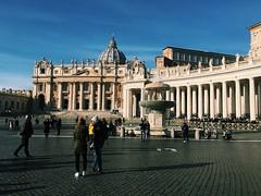 (maycambiasso98) Tags: colour color day sun sky visit travel world roma rome italy italia city papa pope vaticancity vatican vaticano