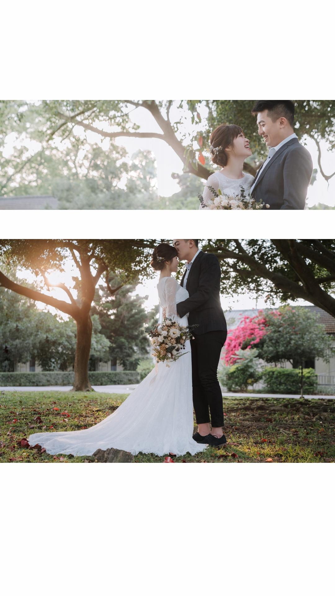 自助婚紗,婚紗,婚推推薦,桃園石門美軍宿舍,joanna wedding,幸福青鳥 Eliza Mao Make up