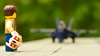 I feel the need... (151/365) (robjvale) Tags: nikon d3200 adventurerjoe lego project365 topgun plane fighter helmet movie sequel