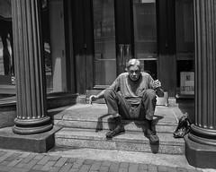 Market Street, 2017 (Alan Barr) Tags: philadelphia 2017 marketstreet marketstreeteast marketeast street sp streetphotography streetphoto blackandwhite bw blackwhite mono monochrome candid city people panasonic lumix gx7